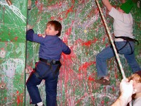 Highlight for Album: Webelos on the Wall - January 2007